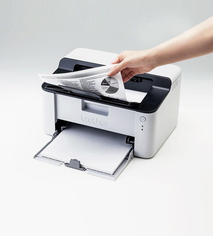 Higher print speeds