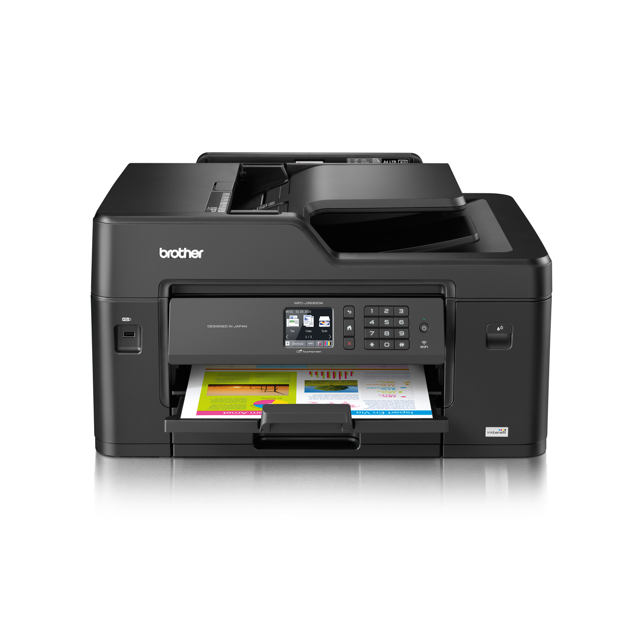 Printers multi functions for home brother malaysia mfc j3530dw front reheart Gallery